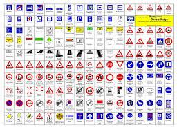 Full Sign Chart Road Signs And Meanings Chart Kenya Www Bedowntowndaytona Com
