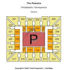 The Palestra Seating Chart The Palestra Seating Chart