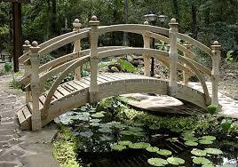 right garden bridge for your landscape