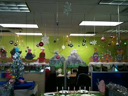 christmas office decor. Stylish Christmas Office Decorating Ideas Decor : Impressive 9505 Interior Design Xmas Cubicle Decoration Theme T
