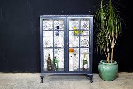 two door glass display cabinet drinks