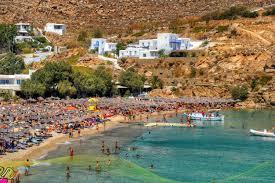 Super Paradise beach Mykonos Island: beach and general info