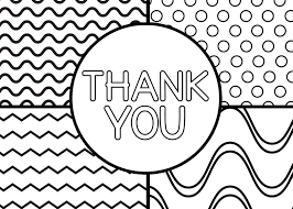 Trend Thank You Coloring Page 80 In Free Coloring Book With Thank