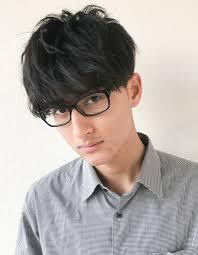 30代メンズショートメガネが似合う髪型ny 66 ヘアカタログ髪型