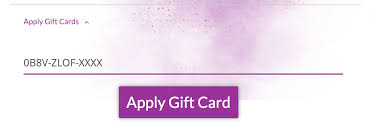 Buying and Using a Gift Card