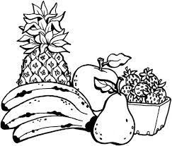 Small Picture Fruit Coloring Pages mixed fruit coloring pages Kids Coloring Pages