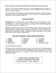 Format Of Resume Writing For Jobs. Example Objective In Resume ...