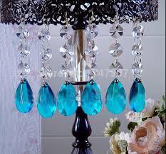 50pcs lot 10cm crystal garland diamond strand glass crystal chandelier pendants wedding party