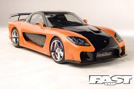 mazda rx7 fast and furious body kit. fast and furious cars 6 mazda rx7 rx7 body kit t