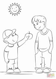 Coloring Pages Kindness New Best Choose And Bertmilneme