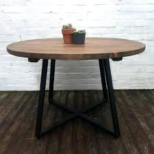 solid wood round dining table country home living room