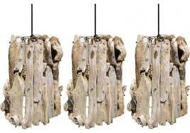 driftwood lighting. set of three driftwood pendants beachstylependantlighting lighting