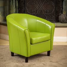 Napoli Lime Green Bonded Leather Club Chair by Christopher Knight Home -  Free Shipping Today - Overstock.com - 12914846