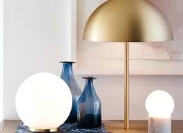 round table lamps large round table lamp in white brass round table lamp s