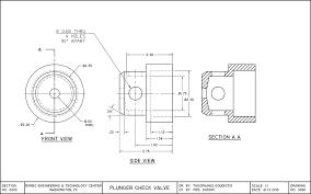 Vending Machine Cad Block Plan Classy Plunger Check Valve CAD Goudiotis Online Porfolio
