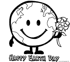 This website have a lot of printable content and products for your class! Earth Globe Happy Earth Day Coloring Pages Printable