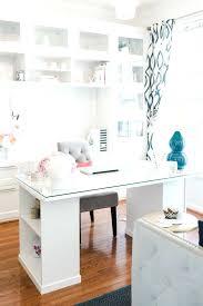 sleek office furniture. Ikea Small Office Clean Sleek Tour With Furniture
