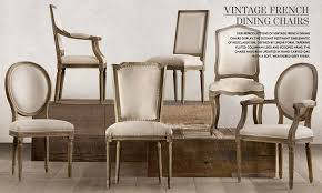 vine french dining chairs restoration hardware