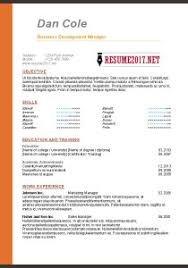 Resume Examples 2017 RESUME FORMAT 60 60 free to download word templates 32