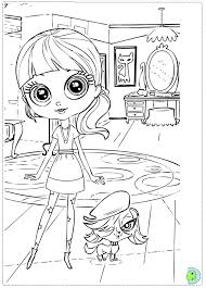 Small Picture Littlest Pet Shop Printable Coloring Pages Disney Palace Pets