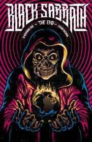 Black Sabbath Design M J Lew Guitar Hero Art Poster Print 12x24 Art Poster