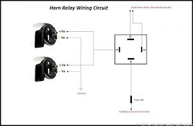 horn relay connection diagram horn image wiring wiring diagram for horn relay the wiring diagram on horn relay connection diagram