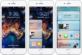 iOS 10 preview your new Lock screen with Raise to Wake wid s