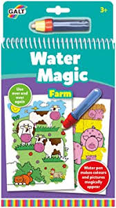 Galt Toys, <b>Water Magic</b> - Farm, Colouring <b>Book</b> for Children, Ages 3 ...