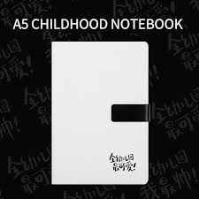 bullet journal supplies a5 lined notebook white leather cover personal diary kawaii filofax agenda thick notebooks in notebooks from office