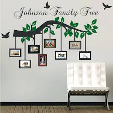 family wall picture frame picture frame branch wall decal trendy designs throughout family frames for inspirations