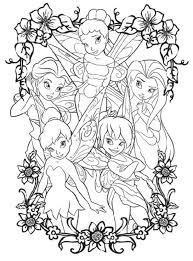 Spring coloring printables spring activity sheets and spring print. Tinkerbell And Friends Coloring Pages Coloring Home