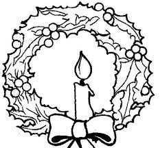 Christmas Wreath Coloring Pages Elegant Photos Free Coloring Pic