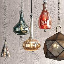 antique pendant lighting. Product List · Antique Handmade Rocky Silver Glass Pendant Lighting 10458