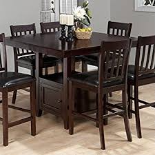 height dining table sets. jofran counter height square storage dining table in tessa chianti sets