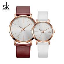 <b>Shengke</b> Fashion Couple <b>Watches</b> 2018 Top Brand <b>Luxury</b> Quartz ...
