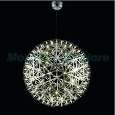 big ball chandelier off aluminum big ball round led light ceiling chandelier modern modern light pendants