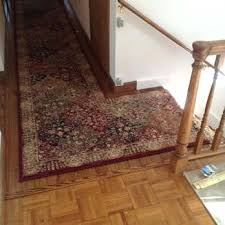 photo of rugs ct united states custom runner installed from kaoud oriental rug cleaning
