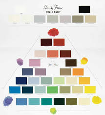 Miss Lillian S Chock Paint Color Chart