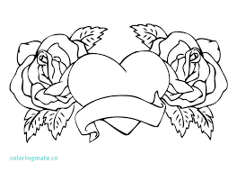 Rose Coloring Pages For Adults Zupa Miljevcicom
