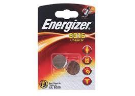 <b>Батарейка Energizer Lithium CR2016</b> 2шт купить недорого в ...