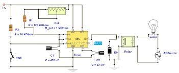 adjustable timer circuit diagram with relay output relay diagram 5 pin at Automotive Relay Wiring Schematic Explained