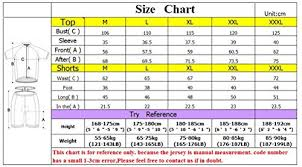 Asian Clothing Size Chart To Us Sponeed Mens Bicycle Jersey Polyester And Lycra Shirt Cyclist