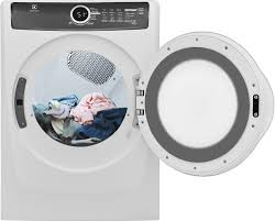 Electrolux EFME517SIW 27 Inch 8.0 cu. ft. Electric Dryer with ...