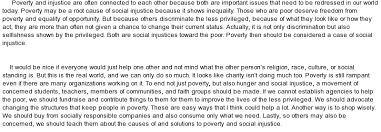 poverty a social injustice how can it be resolved at com essay on poverty a social injustice how can it be resolved
