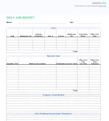 Daily Shift Report Template 3 Best Examples Daily Report Template Free Templates Download