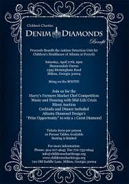 The Denim And Diamonds Event April 27 In Milton Will Benefit