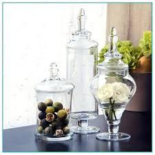 Decorative Glass Jars For Kitchen Decorative Glass Jars For Kitchen Surprising Decorative Glass Jar 12