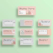 Printable Christmas Love Coupons Blank Diy Coupons Stocking Stuffer Gift For Him Gift For Her Coupon Book Printable Digital Download