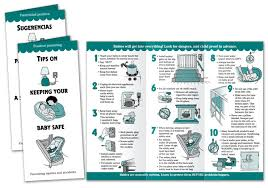 baby pamphlets tips on keeping your baby safe pamphlet noodle soup