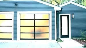 glass garage doors for glass garage doors cost of door full s aluminium for glass garage doors